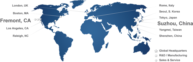 Intematix Global Locations